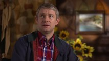 """Bilbo is scared all the time"" The Hobbit 2 - Bilbo Interview HD (TwoMovies.name)"