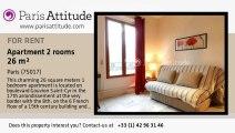 1 Bedroom Apartment for rent - Porte Maillot/Palais des Congrès, Paris - Ref. 1728