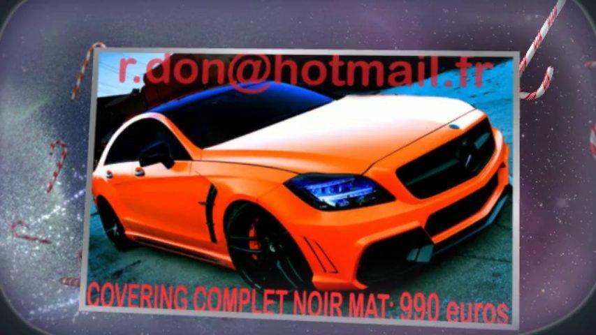 Mercedes CLS noir mat, Mercedes CLS noir mat, Mercedes noir mat, Mercedes CLS Covering noir mat, Mercedes CLS peinture noir mat, Mercedes CLS noir mat