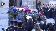 Hommage national aux deux soldats tués en Centrafrique