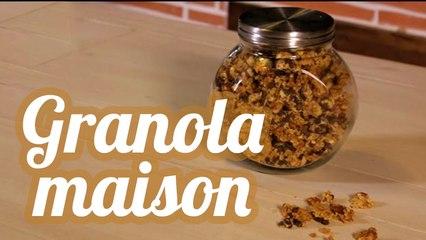Granola gourmand pour le petit-déjeuner