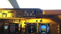 GoPro depuis le cockpit d'un Boing 747