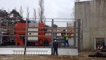Installation d'une chaudière à bois