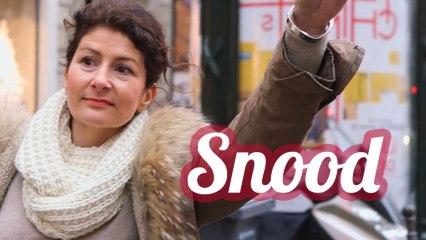 Le snood, l'accessoire tendance de l'hiver