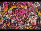 Arc-en-ciel. Fernande Garay. (2009). Art Abstrait. Expressionnisme.