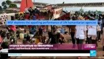 SUR LE NET - Urgence humanitaire en Centrafrique