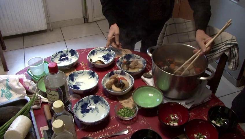 cuisine japonaise à domicile  Bordeaux et sa région.
