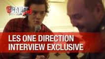 Les 1D en interview exclusive avec Cauet au NMA 2014