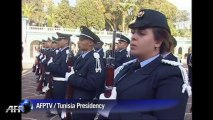 Discreet ceremony for third anniversary of Tunisia uprising