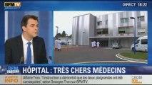 """BFM Story: Rapport sur les médecins intérimaires: ces médecins """"mercenaires"""" coûtent trop cher - 17/12"""