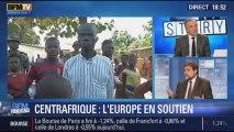 BFM Story: Centrafrique: les troupes européennes seront aux côtés des soldats français - 17/12