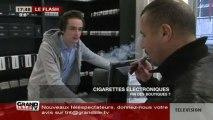 Cigarettes électroniques: vers la fin des boutiques?