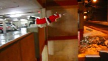 Père Noël Parkour