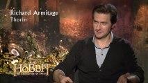 The Hobbit  The Desolation of Smaug INTERVIEWS - Smaug (2013) HD