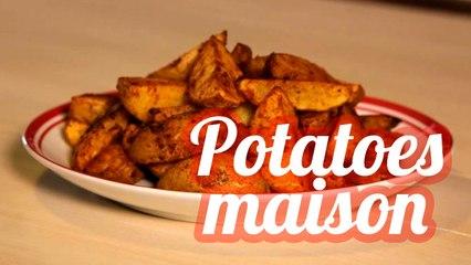 Potatoes au four sans friture