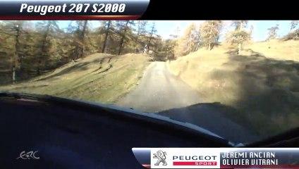 Peugeot Rally Academy : A bord avec Jérémi Ancian