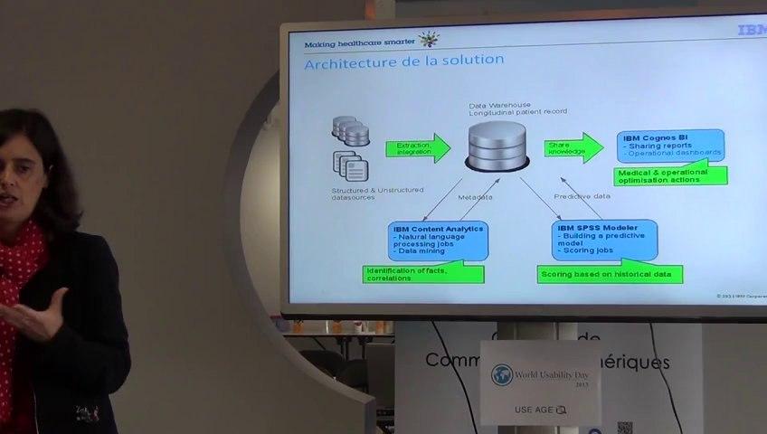 Use-Age WUD2013 - 01 - Watson et la Polyarthrite Rhumatoïde - Valérie Leroy (IBM)