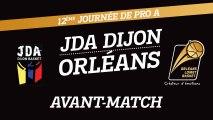Avant-Match - J12 - Orléans se déplace à Dijon