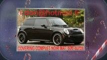 Mini Cooper noir mat, Mini Cooper noir mat, Mini noir mat, Mini Cooper Covering noir mat, Mini Cooper peinture noir mat, Mini Cooper noir mat