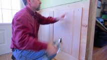 Step 6- Wainscoting Main Installing Stiles and Panels
