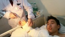 La greffe d'une main sur une cheville en Chine