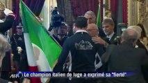 Sotchi: le champion de luge Zöggeler, porte-drapeau de l'Italie