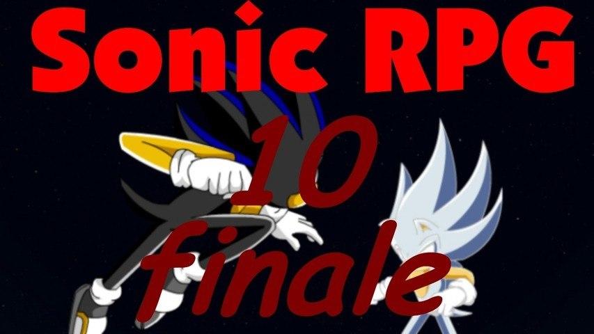 Let´s play Sonic RPG part 10# Final Fight against Seelkadoom (ENDE)