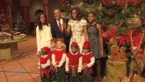 President Obama And Steve Harvey Surprise White House Tourists