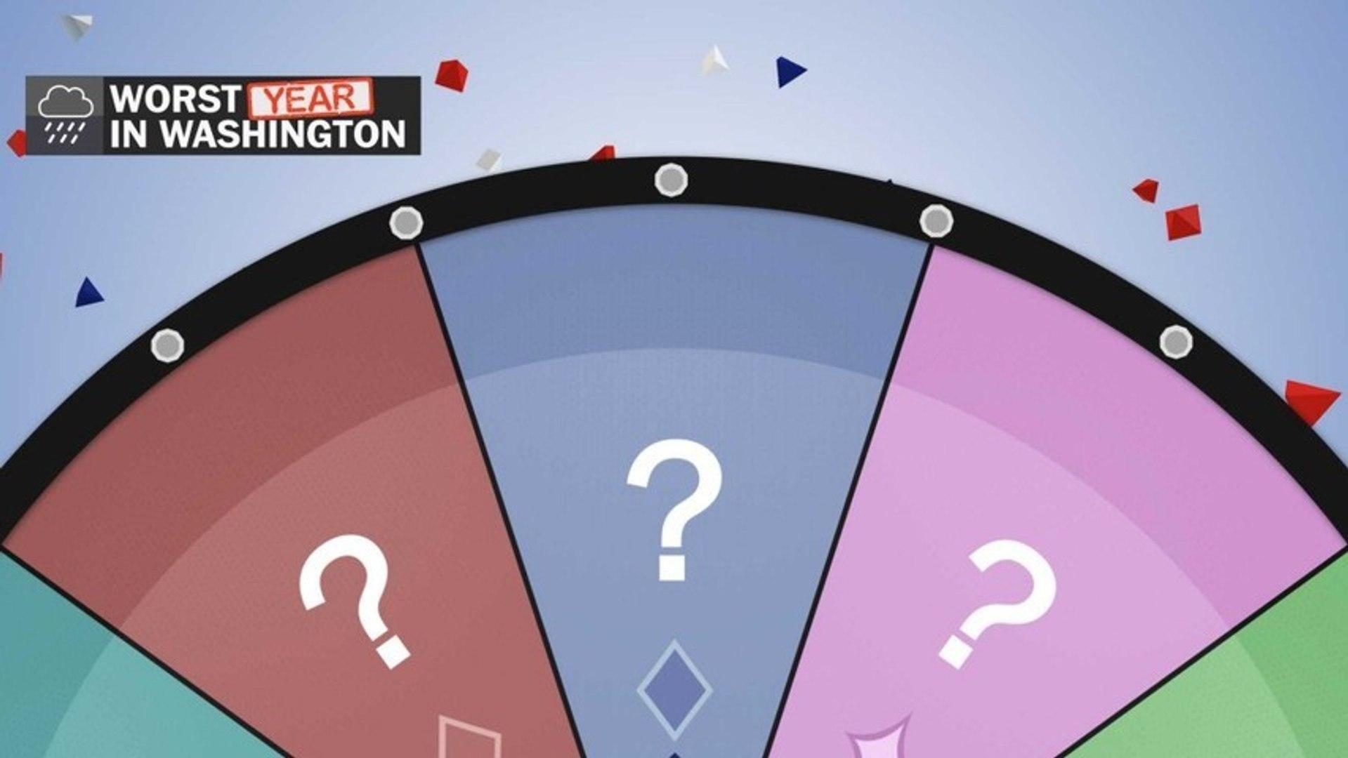 Who had the worst year in Washington?