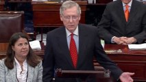 McConnell frames rule change as distraction from Obamacare