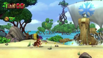 Trailer Nintendo Direct décembre 2013 de Donkey Kong Country : Tropical Freeze