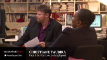 Christiane Taubira et les discriminations en France