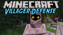 Minecraft Villager Defense [Part 2] - Castors. Castors everywhere.