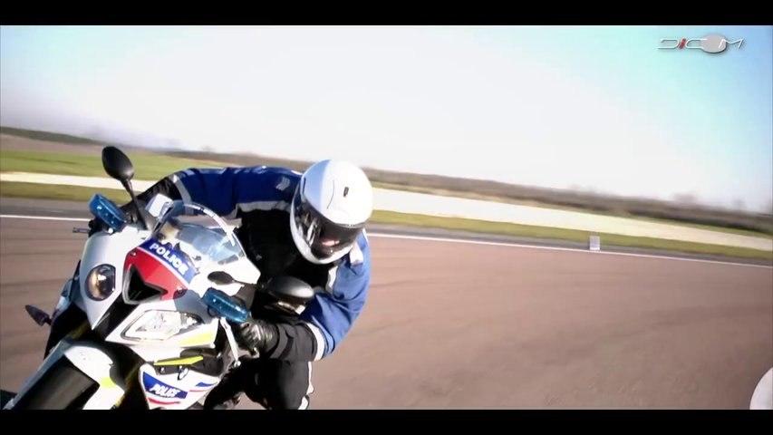 Essai du prototype moto BMW S 1000 RR de la Police Nationale
