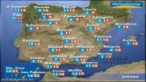 Previsión del tiempo para este jueves 19 de diciembre