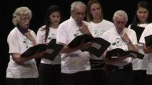 Chorale de patients atteints du cancer de la gorge