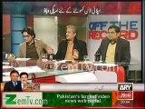 Absar Alam jitna clear Imran Khan ka naam lete hain utna naam Nawaz Sharif ka kyu nahi lete - Shahzaib Khanzada