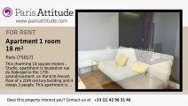 Studio Apartment for rent - Porte Maillot/Palais des Congrès, Paris - Ref. 8628