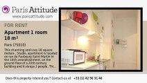 Studio Apartment for rent - Gare de l'Est/Gare du Nord, Paris - Ref. 7634