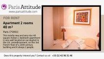 1 Bedroom Apartment for rent - Madeleine, Paris - Ref. 685