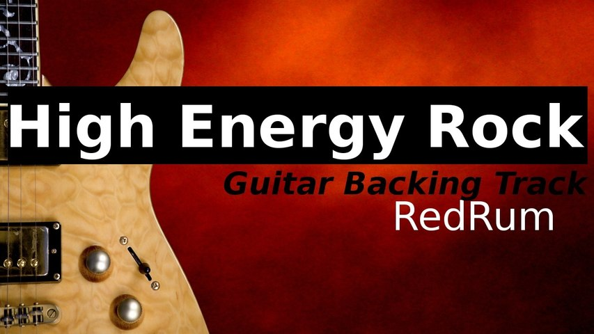 Hard Rock Backing Track for Guitar in G# Minor Pentatonic - Redrum