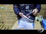 False Nike scoperte dalla Finanza nel Casertano: 4 denunciati. Sequestrate 57mile paia di scarpe accuratamente contraffatte