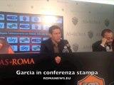 Garcia in conferenza stampa - 20/12/13