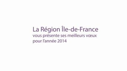 Voeux 2014 de la Région Île-deFrance