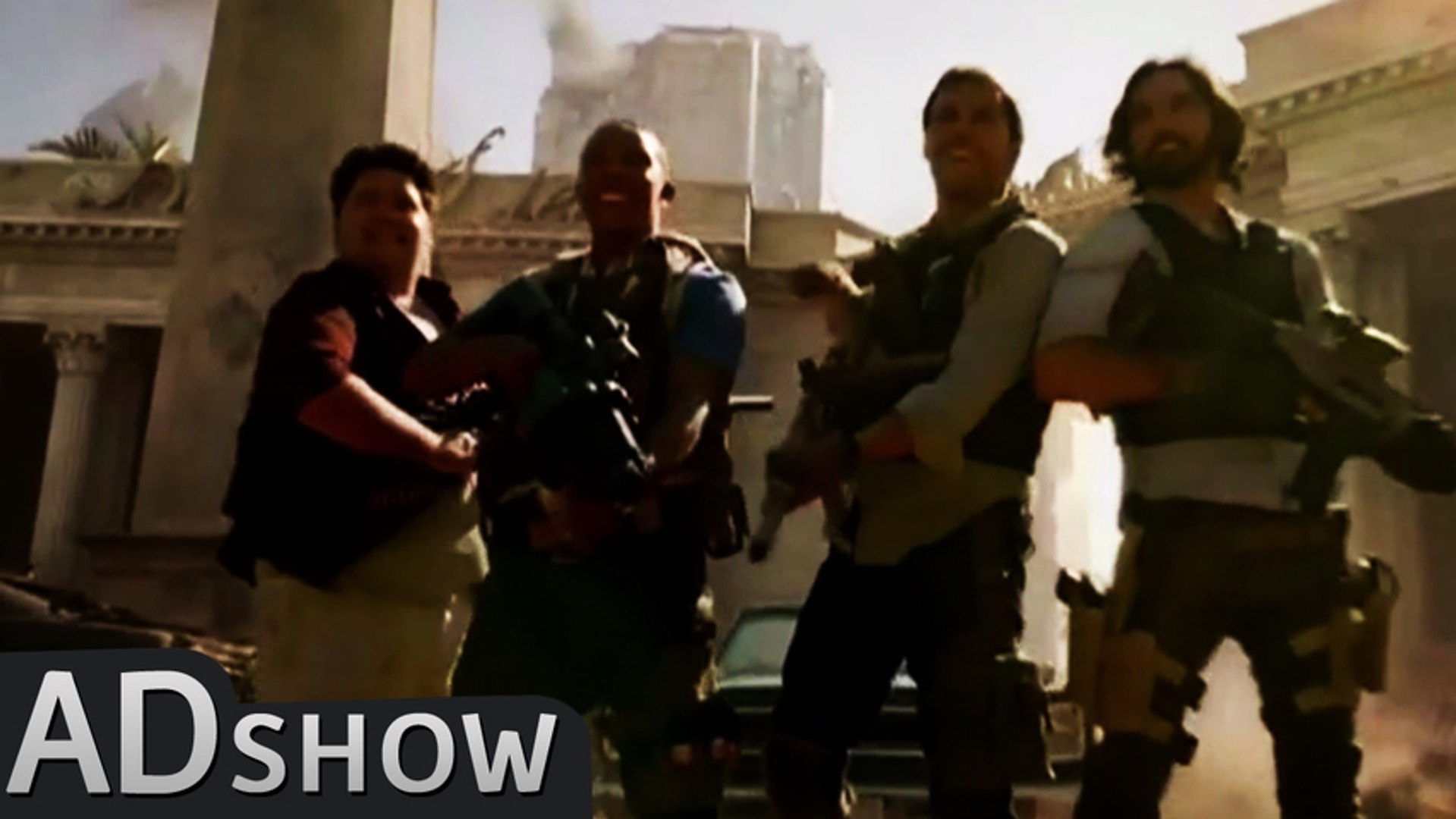 Call of Duty: Megan Fox & 4 buddies get into live-action