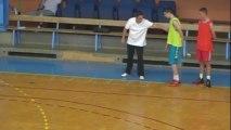 basketball - organisation de la reprise entrainement par Formet Gaëtan - Joeuf le 7 sept 2013 - part-2