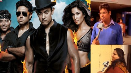 Dhoom 3 PUBLIC REVIEW | Aamir Khan | Katrina Kaif - Film Rating
