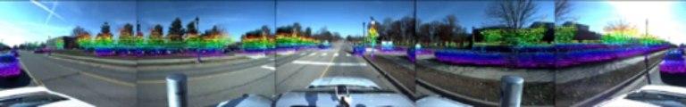 Un prototype de Ford Fusion Hybrid autonome dédié aux essais sur la voiture autonome