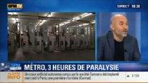 BFM Story: les quatre lignes du métro parisien sont paralysées pendant trois heures - 20/12