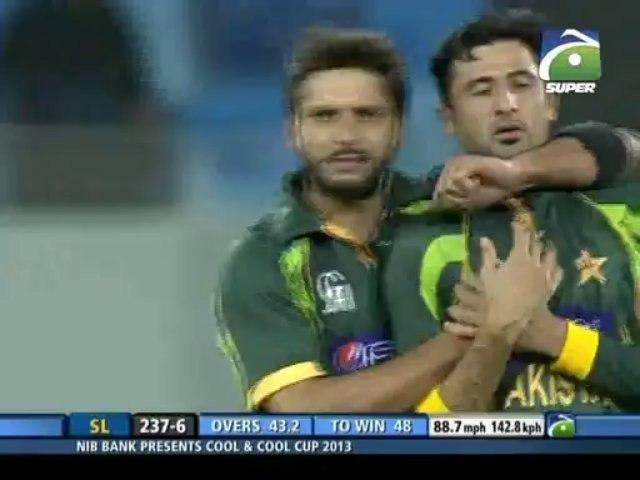 Pak vs Sri 2nd ODI- Fall of Wickets(2nd Inning)
